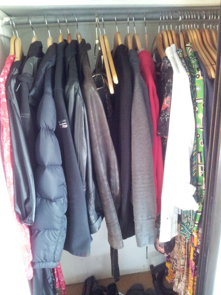 My 33 piece wardrobe
