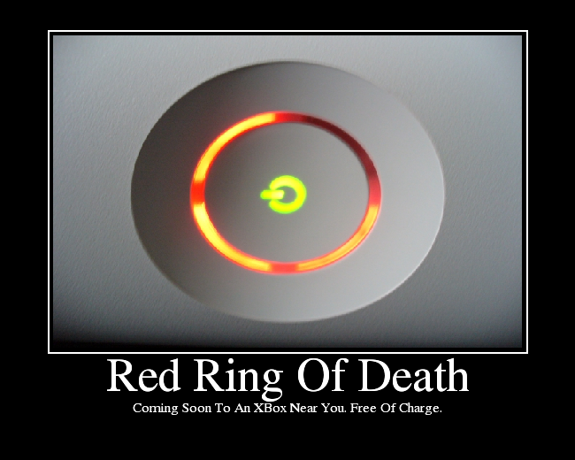 My Xbox  Has A Red Ring