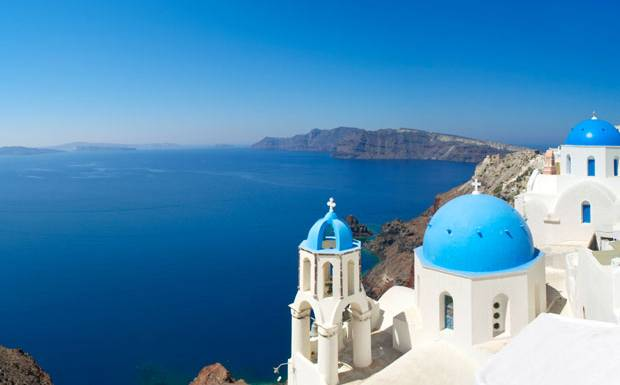 I want to visit Greece.