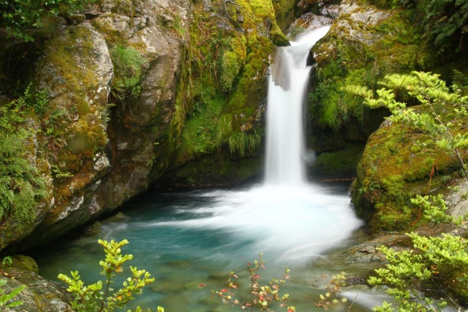 Waterfall, Queenstown, New Zealand