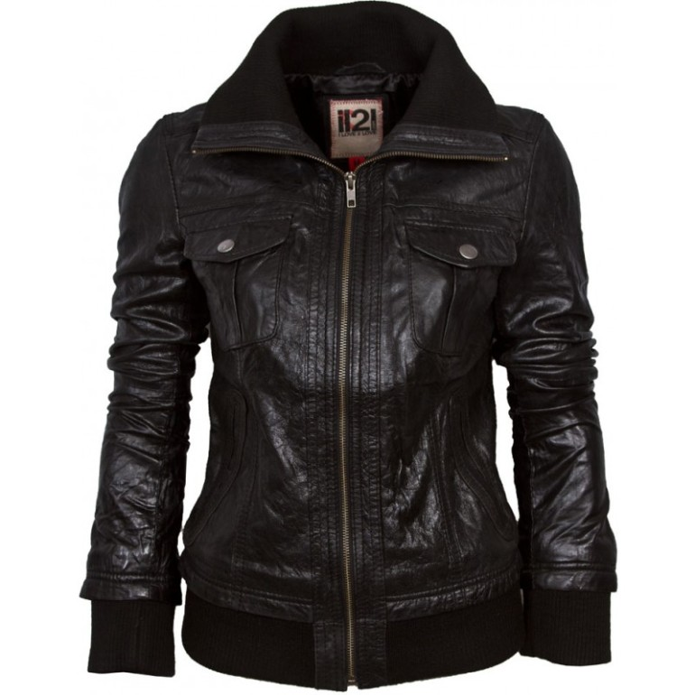 """An awesome black bomber jacket. It's a great jacket, but I know enough about my own coloring and body shape to know it's great - for someone else. Some styles, no matter how """"classic"""", just won't suit us. Building a capsule wardrobe means selecting the best styles for our own body shape and coloring, not for someone else. Be discriminating."""