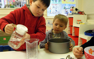 All kids need to learn to cook - boys too! Image from Camelot Day Nursery.