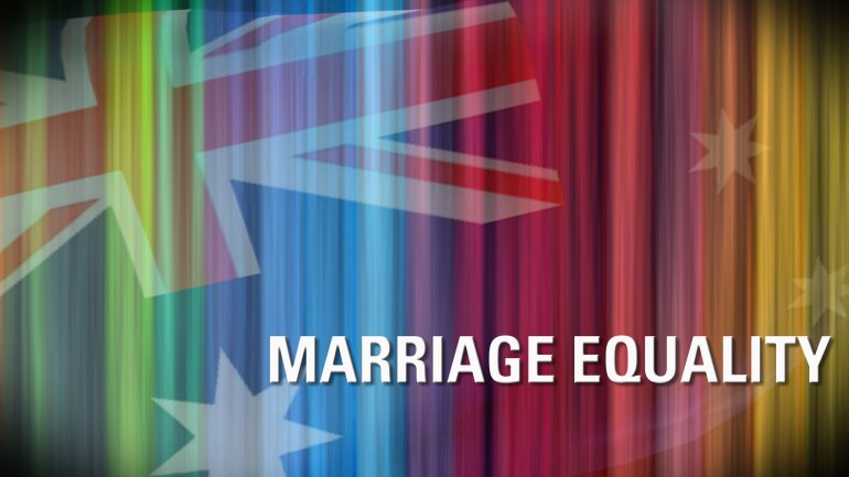 We'll keep pushing for marriage equality in Australia...and it WILL happen!