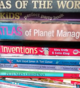 Another lots of books to go. I won't say it's the final pile, but it's close now.