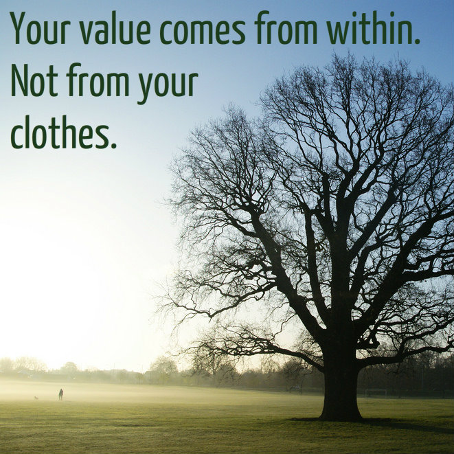 valuewithinnotclothes