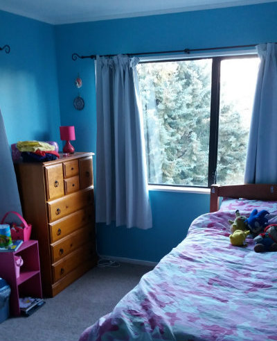My 9 year old daughter's room. No, I didn't tidy it. She keeps it neat, and cleans it herself.
