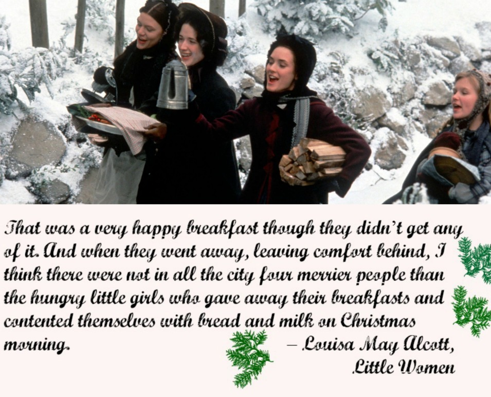 "Quote from Lousa May Alcott's ""Little Women"". Image from The Salonierre's apartments blog."
