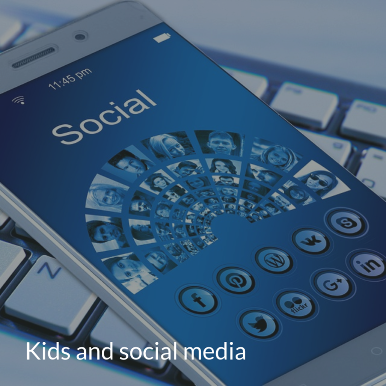 kids and social media