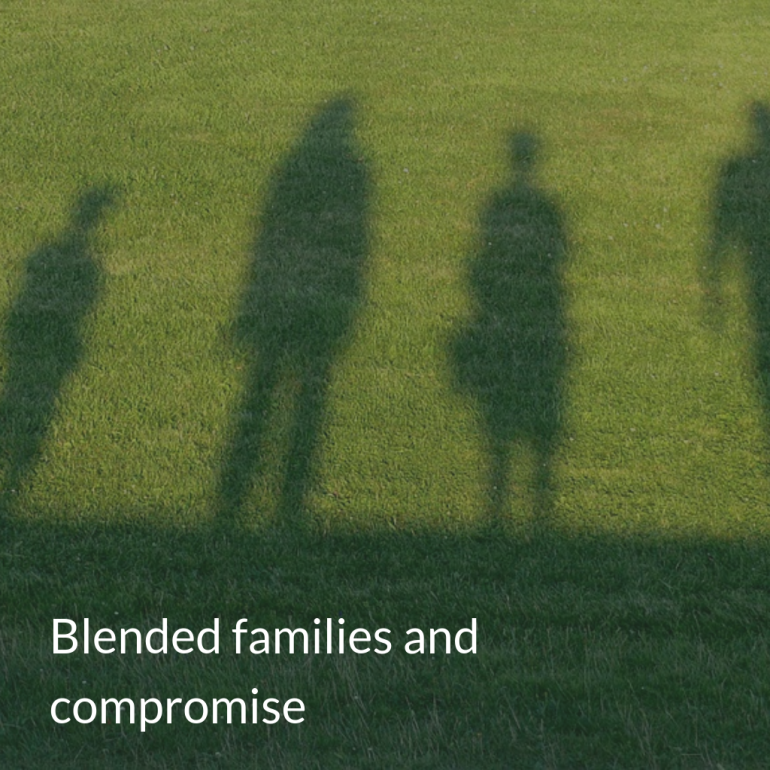 blended families and compromise