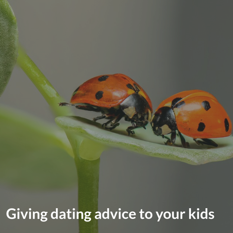 dating advice for your kids