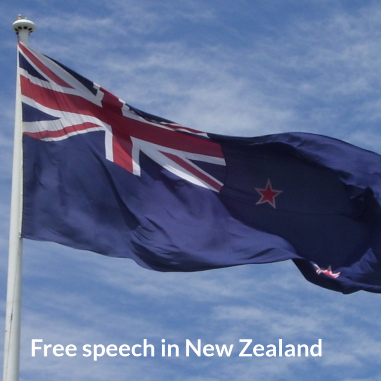 Free speech in new zealand simple living with kids for Minimalist living with children