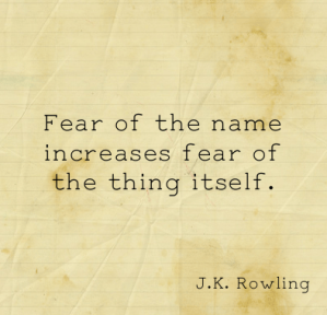 fear of a name